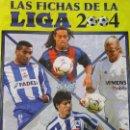Coleccionismo deportivo: ÁLBUM DE CROMOS DE FÚTBOL. LAS FICHAS DE LA LIGA 2003 2004. CONTIENE 406 FICHAS. 1,5 KG. Lote 160688670