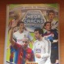 Coleccionismo deportivo: ALBUM ARCHIVADOR MEGACRACKS 2007-2008 PANINI TRADING CARDS CON 248 FICHAS. Lote 160693430