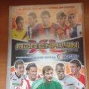 Coleccionismo deportivo: ALBUM ARCHIVADOR ADRENALYN LIGA 2010-2011 TRADING CARD GAME PANINI CON 321 FICHAS DIFERENTES. Lote 160693990