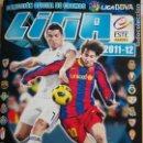 Coleccionismo deportivo: ALBUM EDICIONES ESTE 2011-12 CONTIENE 430 CROMOS . Lote 160699910