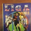 Coleccionismo deportivo: LAS FICHAS DE LA LIGA 2001 - MUNDI CARDS - CAMPEONATO NACIONAL DE LIGA 2000 / 2001 (304 CROMOS). Lote 160725382