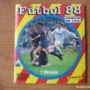 Coleccionismo deportivo: ALBUM FUTBOL 88 PANINI COMPLETO AL 95 % - 388 CROMOS - LIGA 1987 1988. Lote 160732026