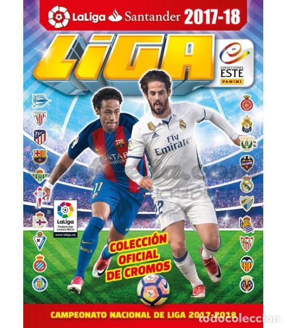 LIGA ESTE 2017 2018 ALBUM Y HOJAS MERCADO INVIERNO Y ACTUALIZACIÓN, TODO VACÍO Y NUEVO (Coleccionismo Deportivo - Álbumes y Cromos de Deportes - Álbumes de Fútbol Incompletos)
