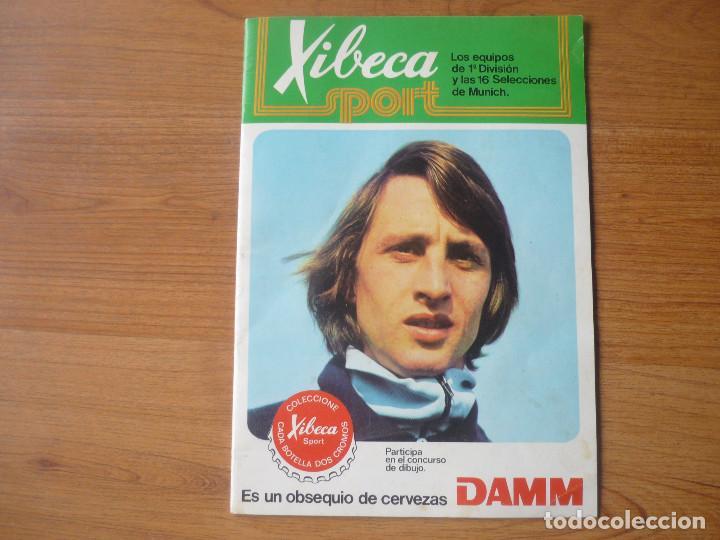 ALBUM FUTBOL A MUNICH CON XIBECA SPORT 73 74 CON 147 CROMOS - LIGA 1973 1974 (Coleccionismo Deportivo - Álbumes y Cromos de Deportes - Álbumes de Fútbol Incompletos)