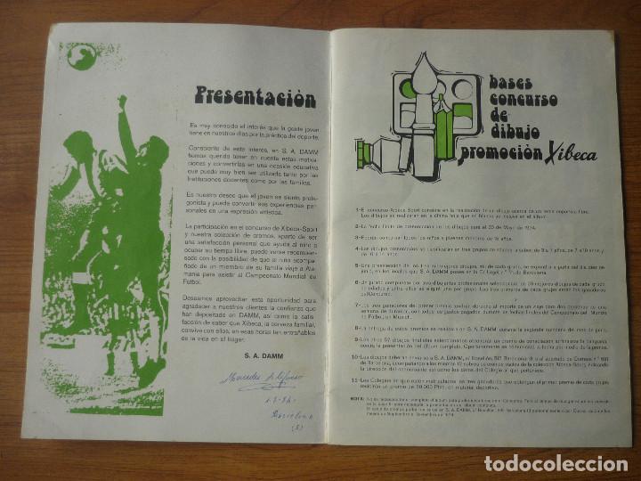 Coleccionismo deportivo: ALBUM FUTBOL A MUNICH CON XIBECA SPORT 73 74 CON 147 CROMOS - LIGA 1973 1974 - Foto 2 - 174268332