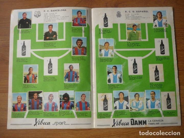 Coleccionismo deportivo: ALBUM FUTBOL A MUNICH CON XIBECA SPORT 73 74 CON 147 CROMOS - LIGA 1973 1974 - Foto 3 - 174268332