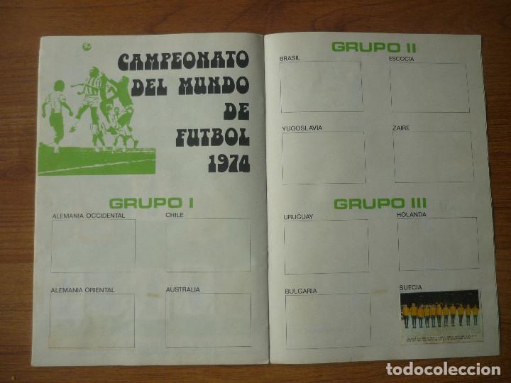 Coleccionismo deportivo: ALBUM FUTBOL A MUNICH CON XIBECA SPORT 73 74 CON 147 CROMOS - LIGA 1973 1974 - Foto 12 - 174268332