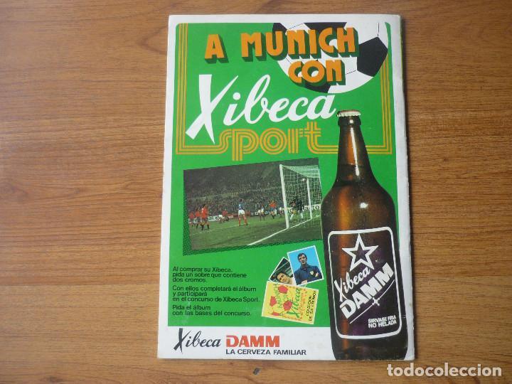 Coleccionismo deportivo: ALBUM FUTBOL A MUNICH CON XIBECA SPORT 73 74 CON 147 CROMOS - LIGA 1973 1974 - Foto 15 - 174268332
