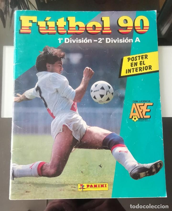 ÁLBUM CROMOS FÚTBOL 1990 PANINI LIGA 90 (Coleccionismo Deportivo - Álbumes y Cromos de Deportes - Álbumes de Fútbol Incompletos)