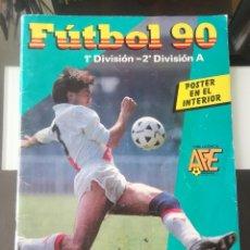 Coleccionismo deportivo: ÁLBUM CROMOS FÚTBOL 1990 PANINI LIGA 90. Lote 161571782