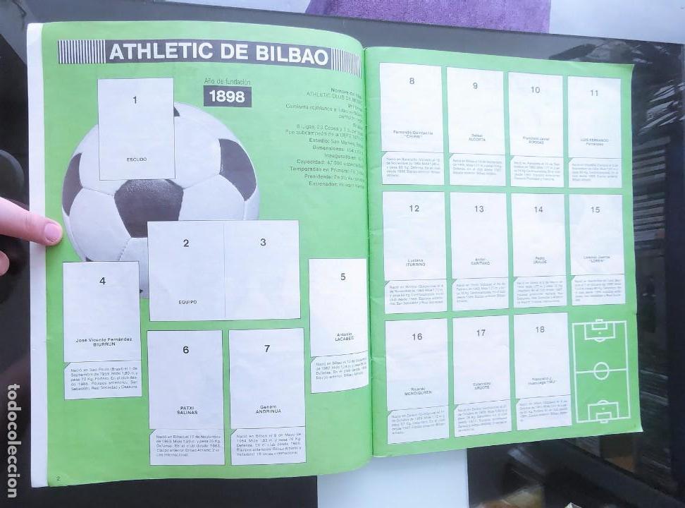 Coleccionismo deportivo: ÁLBUM CROMOS FÚTBOL 1990 PANINI LIGA 90 - Foto 3 - 161571782
