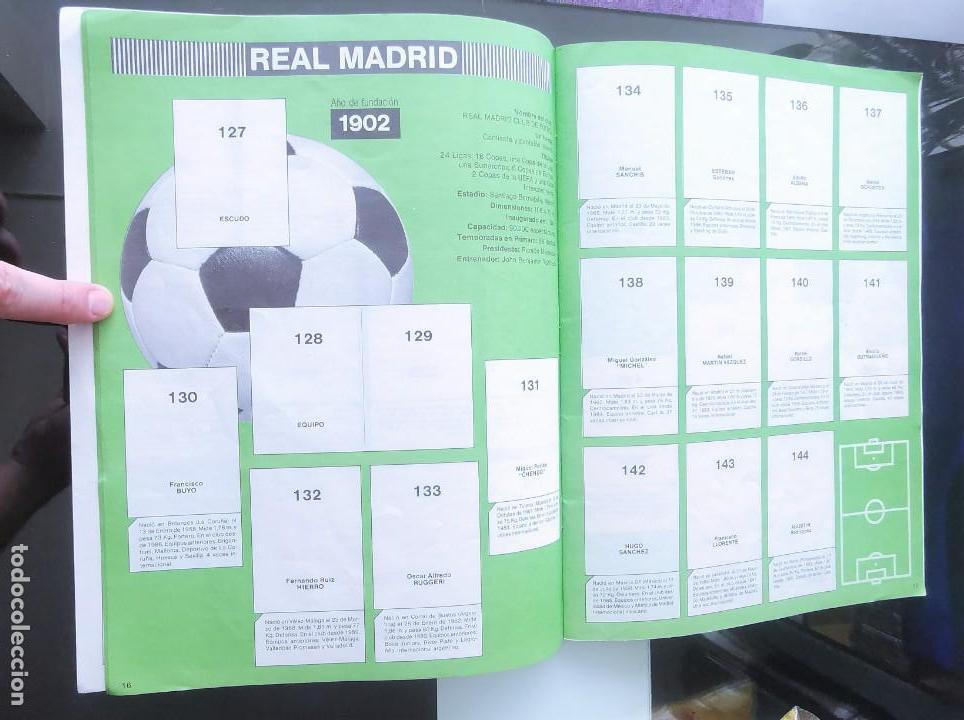 Coleccionismo deportivo: ÁLBUM CROMOS FÚTBOL 1990 PANINI LIGA 90 - Foto 10 - 161571782