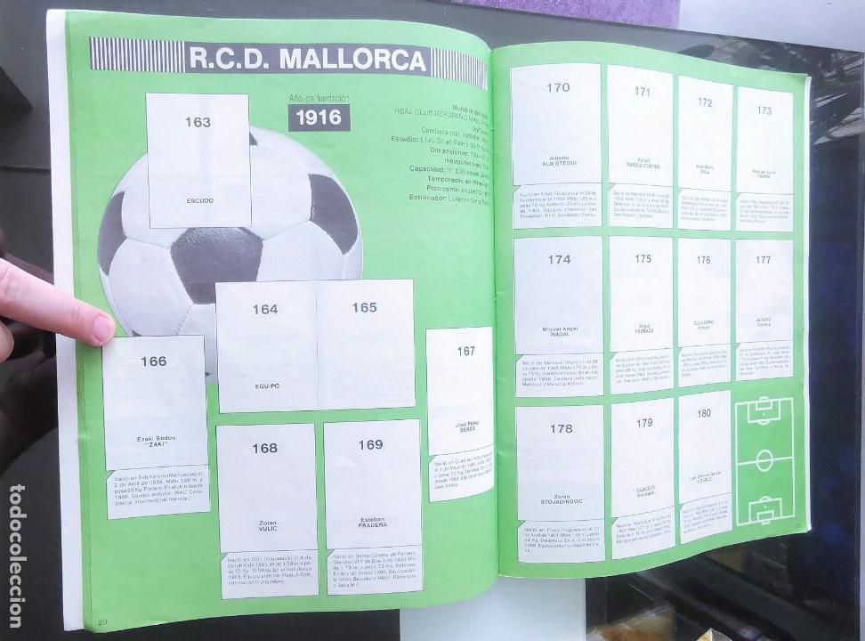 Coleccionismo deportivo: ÁLBUM CROMOS FÚTBOL 1990 PANINI LIGA 90 - Foto 12 - 161571782