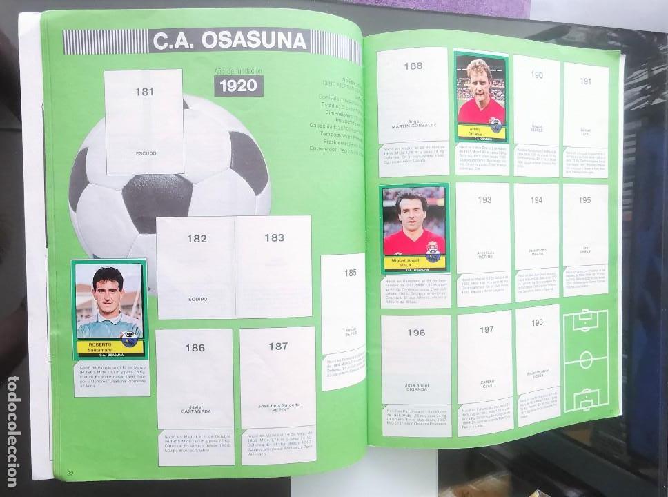 Coleccionismo deportivo: ÁLBUM CROMOS FÚTBOL 1990 PANINI LIGA 90 - Foto 13 - 161571782