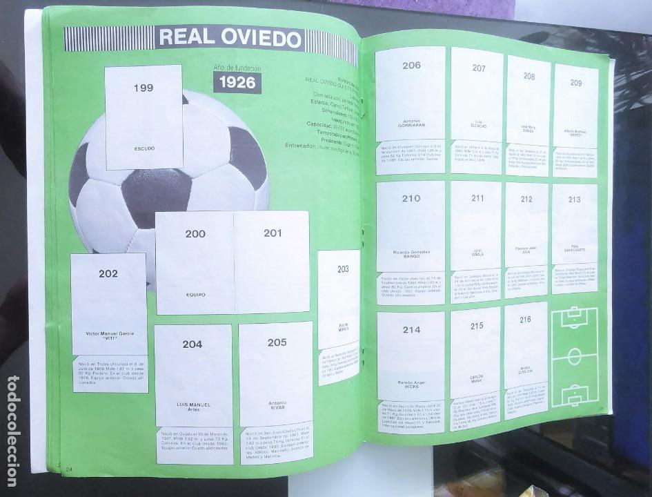 Coleccionismo deportivo: ÁLBUM CROMOS FÚTBOL 1990 PANINI LIGA 90 - Foto 14 - 161571782