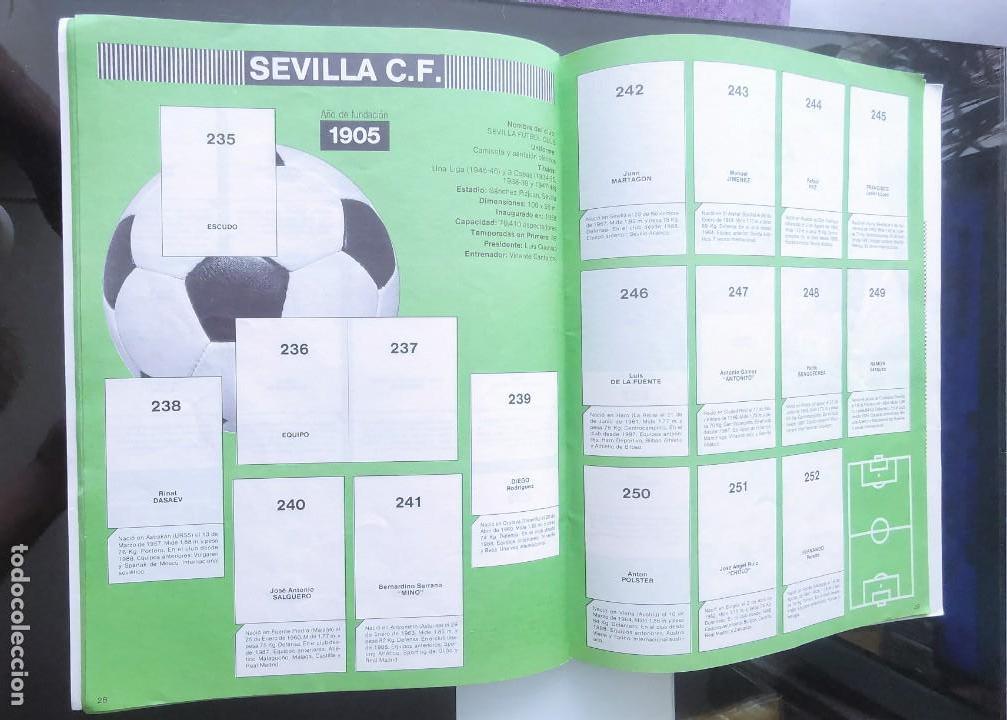 Coleccionismo deportivo: ÁLBUM CROMOS FÚTBOL 1990 PANINI LIGA 90 - Foto 16 - 161571782