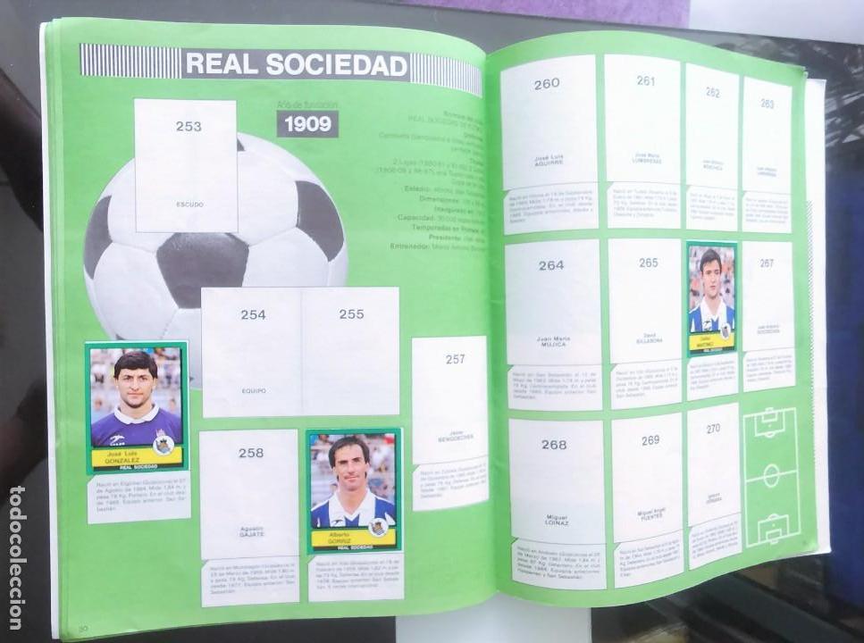 Coleccionismo deportivo: ÁLBUM CROMOS FÚTBOL 1990 PANINI LIGA 90 - Foto 17 - 161571782