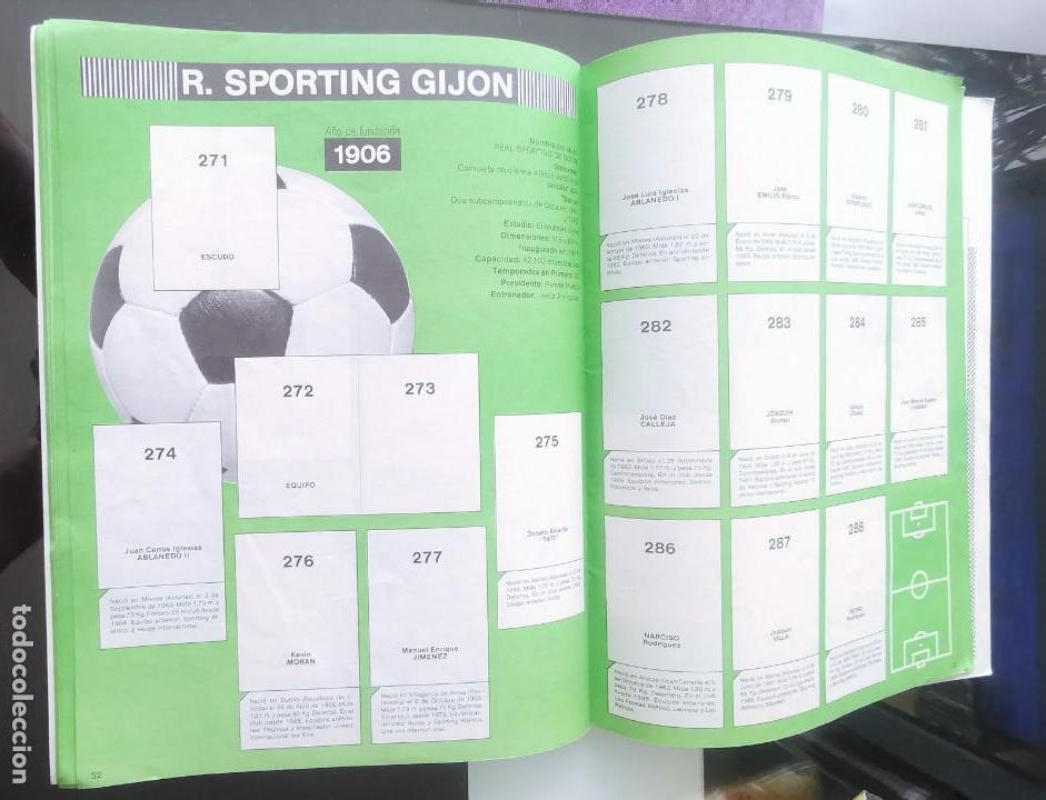 Coleccionismo deportivo: ÁLBUM CROMOS FÚTBOL 1990 PANINI LIGA 90 - Foto 18 - 161571782