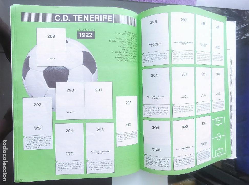 Coleccionismo deportivo: ÁLBUM CROMOS FÚTBOL 1990 PANINI LIGA 90 - Foto 19 - 161571782