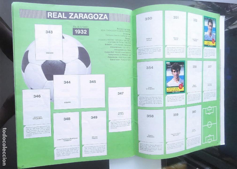 Coleccionismo deportivo: ÁLBUM CROMOS FÚTBOL 1990 PANINI LIGA 90 - Foto 22 - 161571782