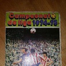 Coleccionismo deportivo: ALBUM CAMPEONATO DE LIGA 1974 -75. 1974 -1975. EDITORIAL DISGRA. Lote 51704780