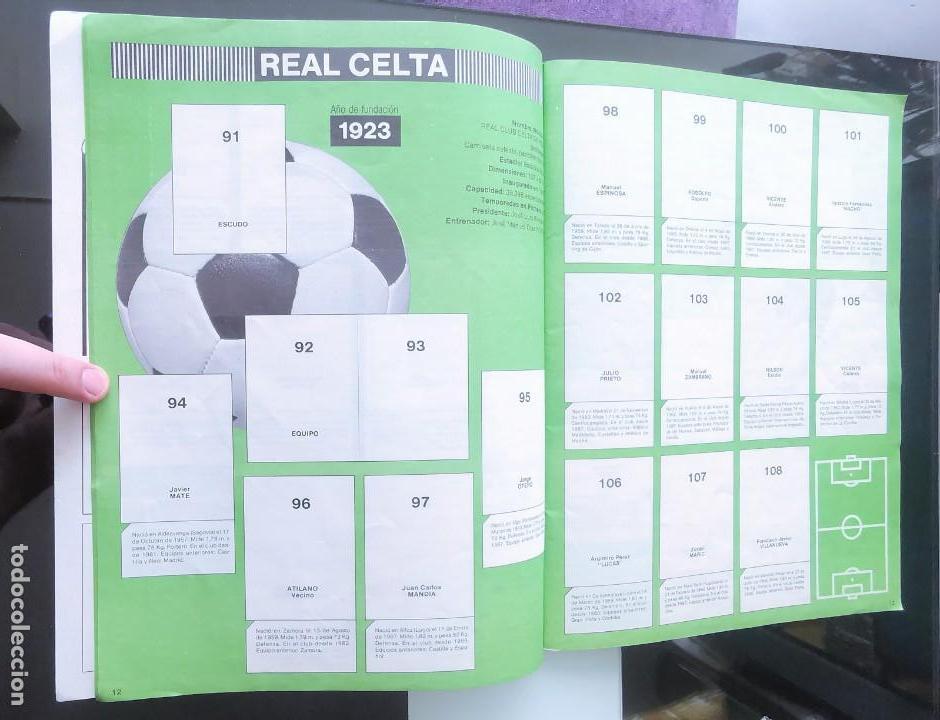 Coleccionismo deportivo: ÁLBUM CROMOS FÚTBOL 1990 PANINI LIGA 90 - Foto 8 - 161571782