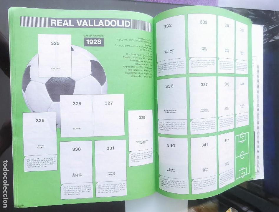 Coleccionismo deportivo: ÁLBUM CROMOS FÚTBOL 1990 PANINI LIGA 90 - Foto 21 - 161571782