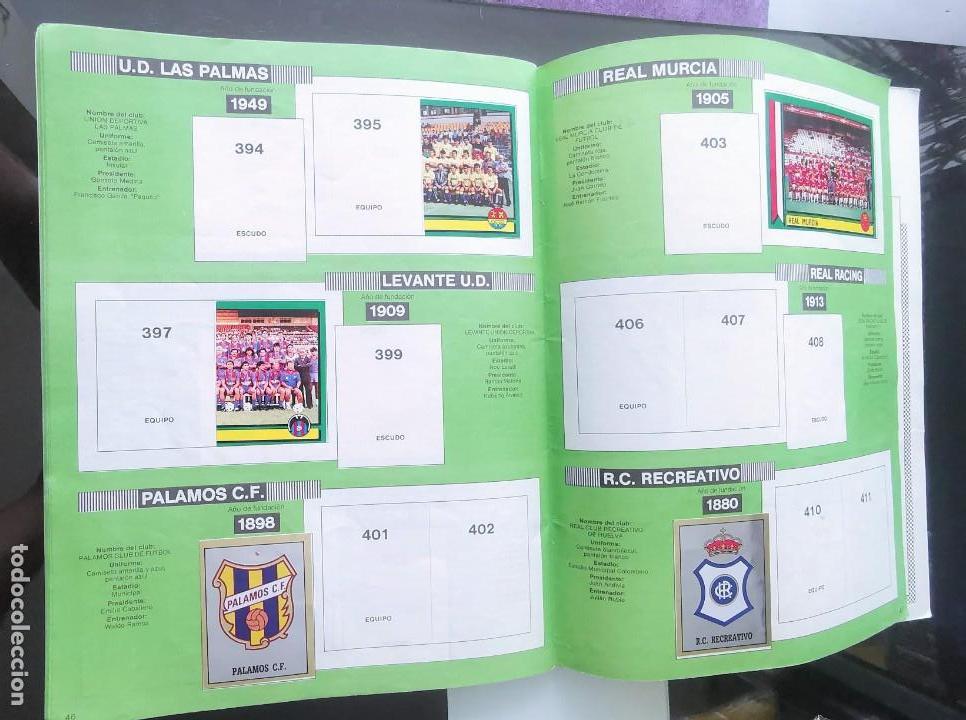 Coleccionismo deportivo: ÁLBUM CROMOS FÚTBOL 1990 PANINI LIGA 90 - Foto 25 - 161571782