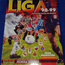 Coleccionismo deportivo: LIGA 1998 - 1999 - PANINI - ¡ALBUM PLANCHA!. Lote 161595150