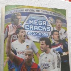 Coleccionismo deportivo: COLECCION OFICIAL PANINI /MEGA CRACKS 2007-2008 /MAS DE 500 CROMOS. Lote 162042958
