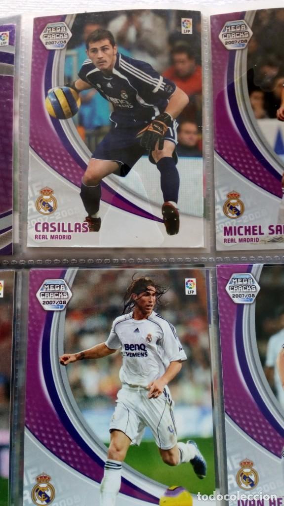 Coleccionismo deportivo: COLECCION OFICIAL PANINI /Mega Cracks 2007-2008 /Mas de 500 Cromos - Foto 7 - 162042958
