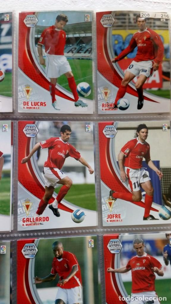Coleccionismo deportivo: COLECCION OFICIAL PANINI /Mega Cracks 2007-2008 /Mas de 500 Cromos - Foto 9 - 162042958