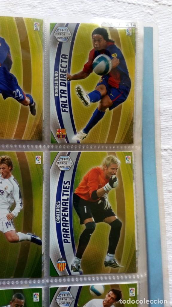 Coleccionismo deportivo: COLECCION OFICIAL PANINI /Mega Cracks 2007-2008 /Mas de 500 Cromos - Foto 17 - 162042958