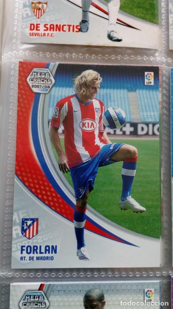 Coleccionismo deportivo: COLECCION OFICIAL PANINI /Mega Cracks 2007-2008 /Mas de 500 Cromos - Foto 19 - 162042958