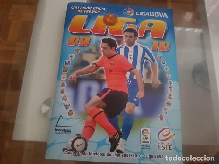 LIGA 2009 - 2010 ESTE .. FALTAN UNOS 100 CROMOS (Coleccionismo Deportivo - Álbumes y Cromos de Deportes - Álbumes de Fútbol Incompletos)