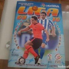 Coleccionismo deportivo: LIGA 2009 - 2010 ESTE .. FALTAN UNOS 100 CROMOS. Lote 162457722