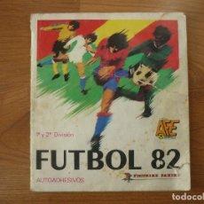 Coleccionismo deportivo: ALBUM FUTBOL LIGA 82 PANINI CON 250 CROMOS - CROMO CROM 1981 1982. Lote 171718750