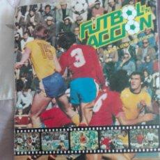 Coleccionismo deportivo: ÁLBUM FÚTBOL EN ACCIÓN DANONE 82 FALTAN 33 CROMOS. Lote 162603984