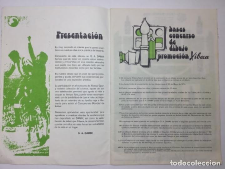 Coleccionismo deportivo: ALBUM DAMM XIBECA SPORT - 1º DIVISIÓN Y SELECCIONES MUNICH - INCOMPLETO - AÑOS 70 - Foto 3 - 162693366