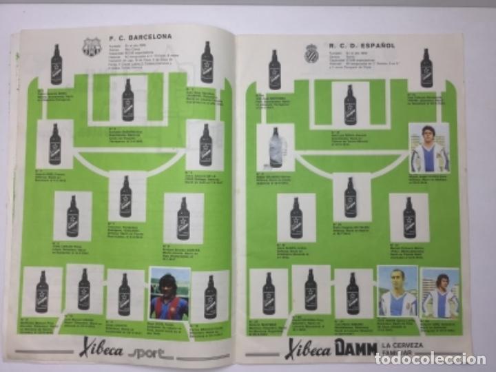 Coleccionismo deportivo: ALBUM DAMM XIBECA SPORT - 1º DIVISIÓN Y SELECCIONES MUNICH - INCOMPLETO - AÑOS 70 - Foto 4 - 162693366