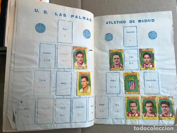 Coleccionismo deportivo: Album de cromos de futbol polluelos 5 con 47 cromos - Foto 5 - 162806098