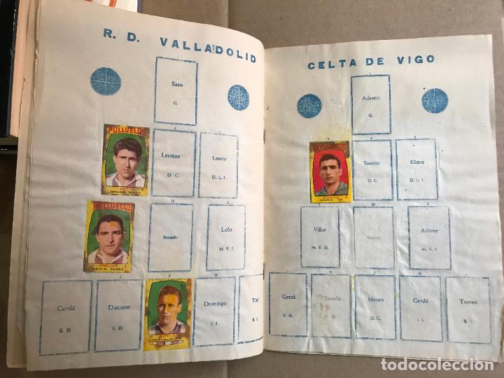 Coleccionismo deportivo: Album de cromos de futbol polluelos 5 con 47 cromos - Foto 7 - 162806098