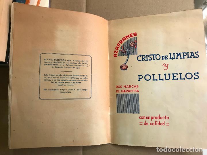 Coleccionismo deportivo: Album de cromos de futbol polluelos 5 con 47 cromos - Foto 12 - 162806098
