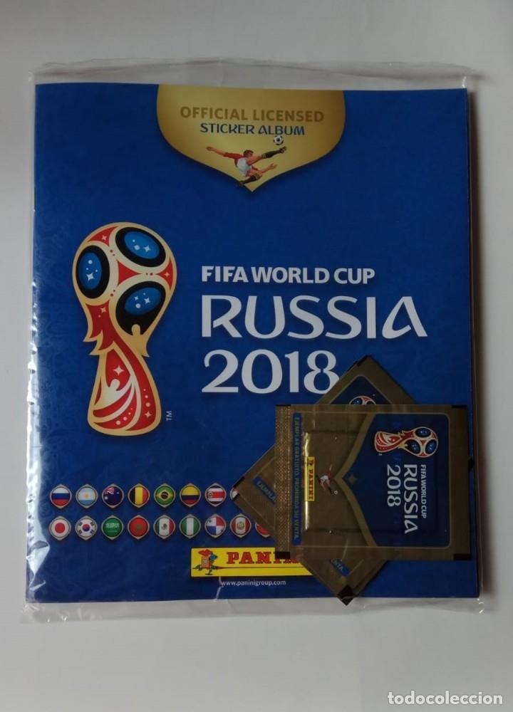 ÁLBUM FIFA WORLD CUP RUSSIA 2018 - PANINI - SIN ABRIR - RUSIA 2018 (Coleccionismo Deportivo - Álbumes y Cromos de Deportes - Álbumes de Fútbol Incompletos)