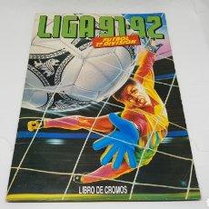 Coleccionismo deportivo: ALBUM LIGA 91 92 EN ESTADO IMPECABLE PARA COMPLETAR. Lote 162836848