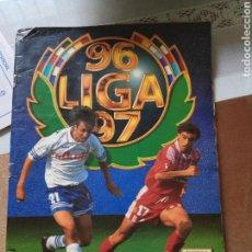 Coleccionismo deportivo: ÁLBUM DE CROMOS CAMPEONATO NACIONAL DE LIGA 1996/1997 PRIMERA DIVISIÓN. OFICIAL LFP.. Lote 163074876