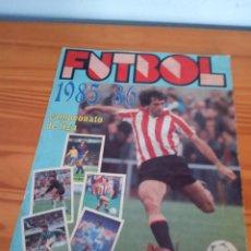 Coleccionismo deportivo: ALBUM ED LISEL 85 86 CROMO FUTBOL LIGA 1985 1986 TEMPORADA - VACIO CROMOS DESPEGADOS. Lote 163074946
