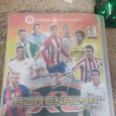 Coleccionismo deportivo: ALBUM ADRENALYN 16 17 PANINI CON 400 CROMOS DIFERENTES (LEER DESCRIPCIÓN). Lote 163087910