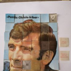 Collectionnisme sportif: PUZZLE IRIBAR CASI COMPLETO. Lote 163448732
