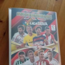 Coleccionismo deportivo: ADRENALYN XL PANINI 2015 2016 ALBUM ARCHIVADOR VACIO LIGA BBVA 15 16. Lote 163511306